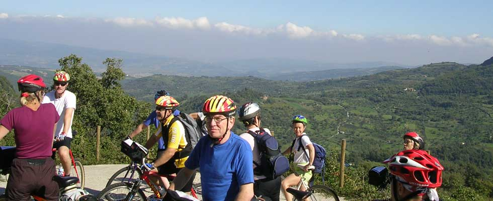 Cycling on Monte Amiata