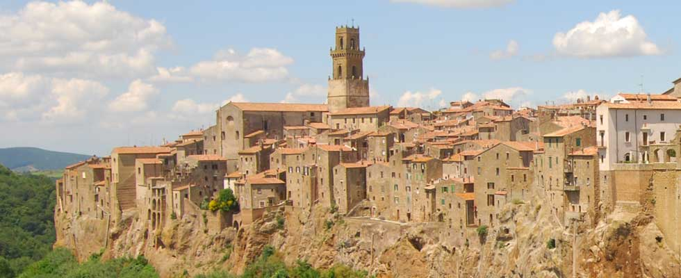 Monte Amiata close Pitigliano
