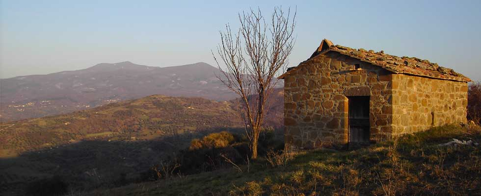 The Etruscan on Monte Amiata area